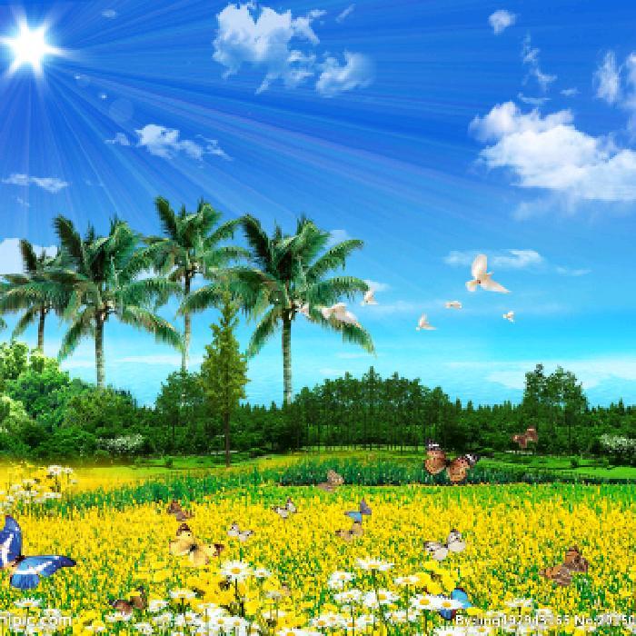 描寫春天四月鄉村風光果時的作文四百字答:冬爺爺走了,春姐姐邁著輕盈